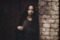 Egypte, Assiout, Jeune femme musulmane d'Assouan