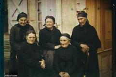 France, Moissac, 5 femmes Moissagaises (le nez toulousain)