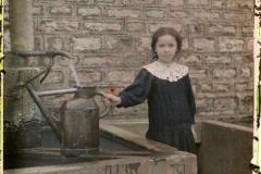 France, St Gengoux Le National, Angèle Nectoux, 12 ans