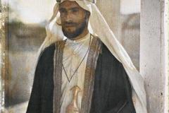 Arabie, Djeddah, Bédouin riche