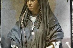 Palestine, Jérusalem, Femme d'El-Salt