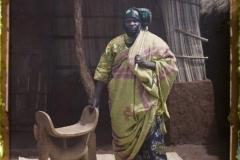 Dahomey, Abomey, Chef Justin Aho, Neveu de Béhenzin