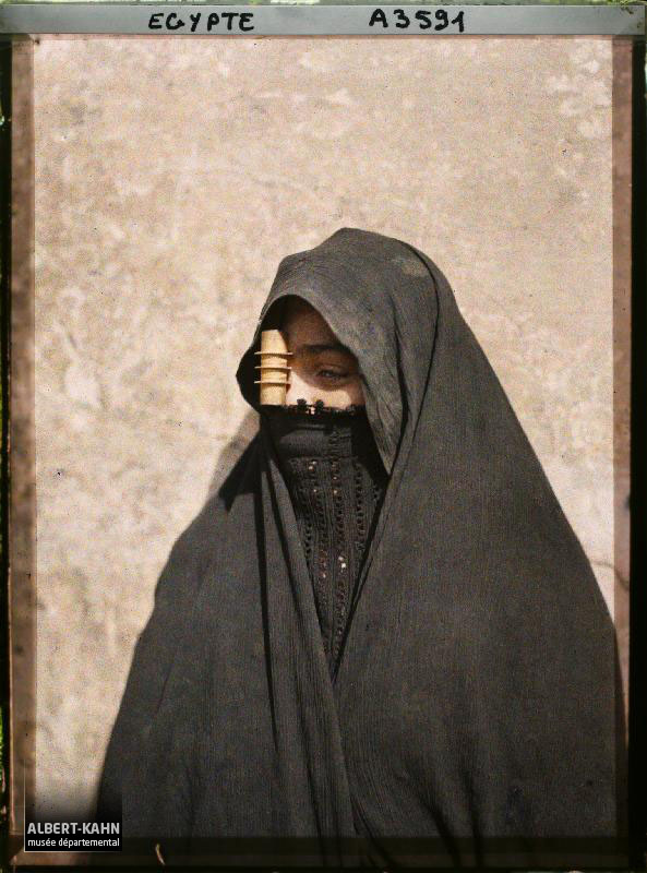 Egypte, Le Caire, Femme arabe