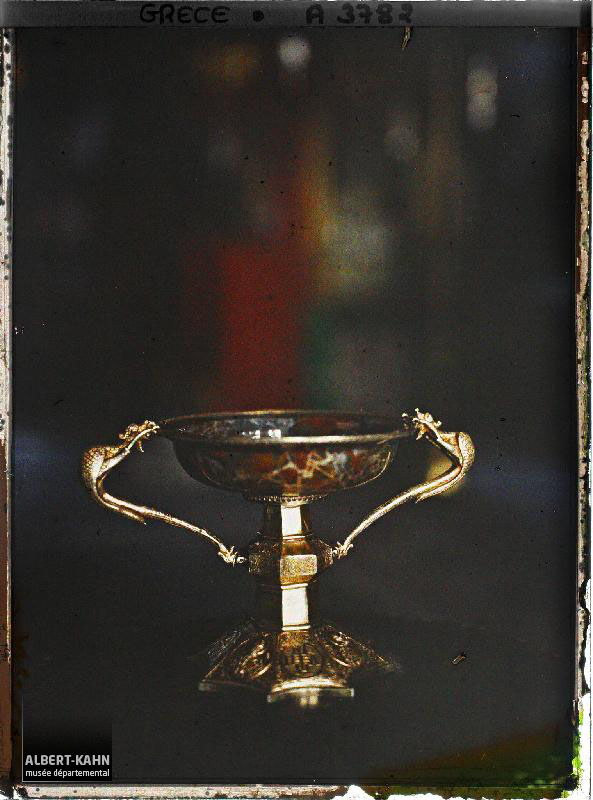 Mont-Athos, Vatopediou, Décoration de l'entrée de l'Eglise