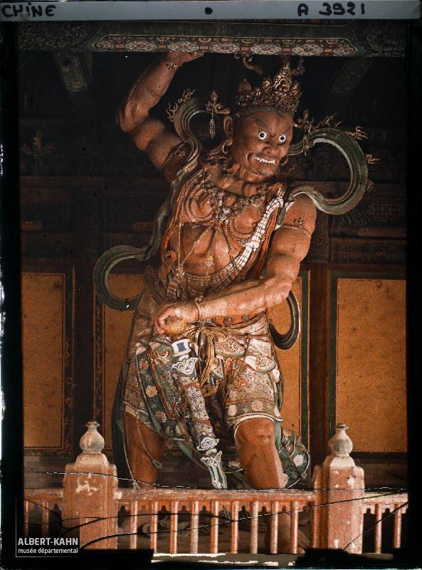 Py-Yen-Seu, Génie Bouddhique