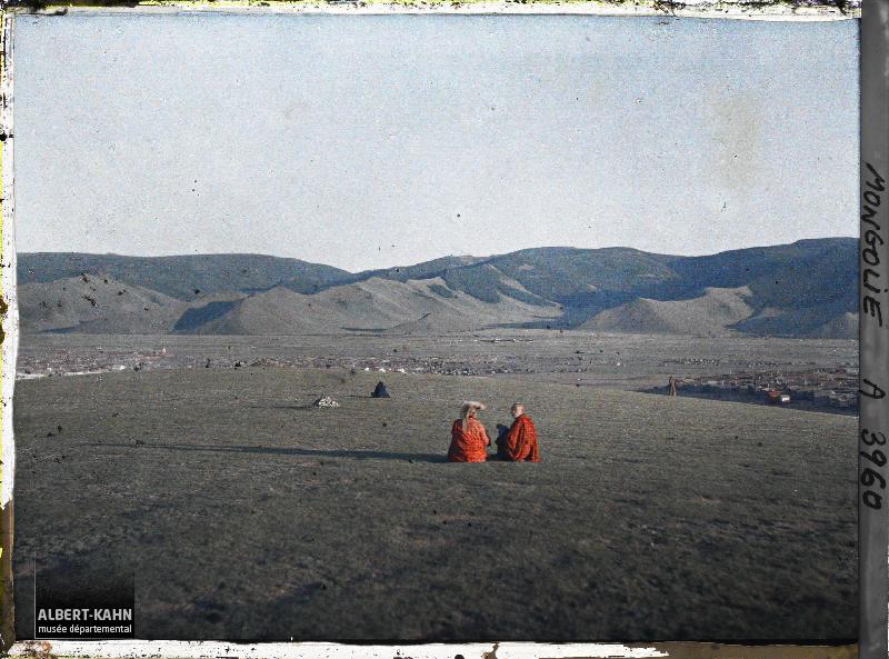 Ourga, Lamas et vue s/ la ville