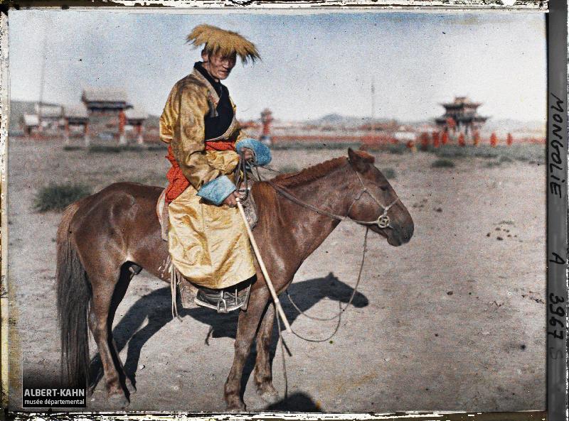 Ourga, Grand lama