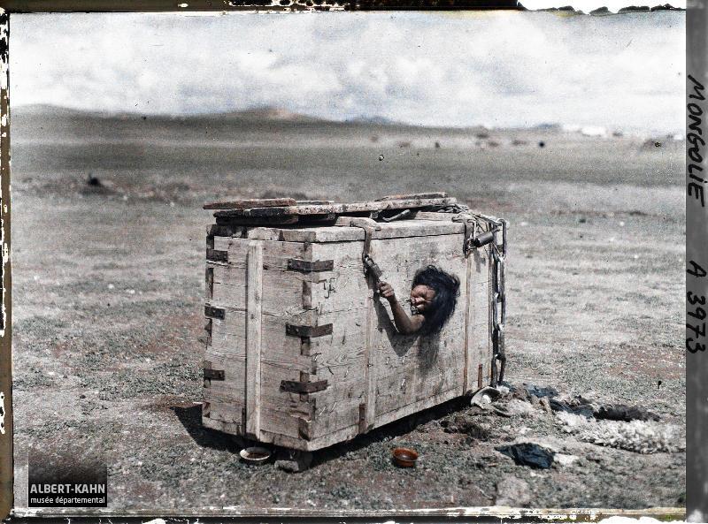 Ourga, Femme au supplice