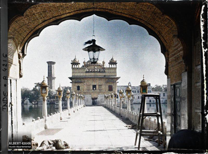 Indes, Amritsar, Le Temple d'Or