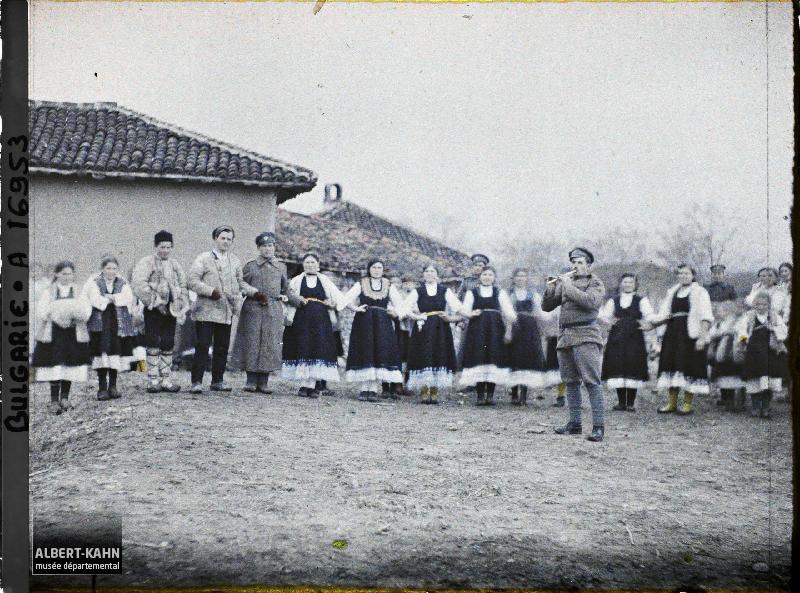 Bulgarie, Sophia, Danse Villageoise