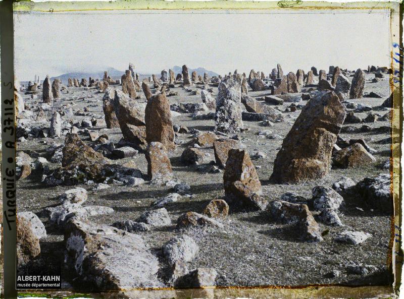 Turquie, Angora, Les Vieux Cimetières de l'Est