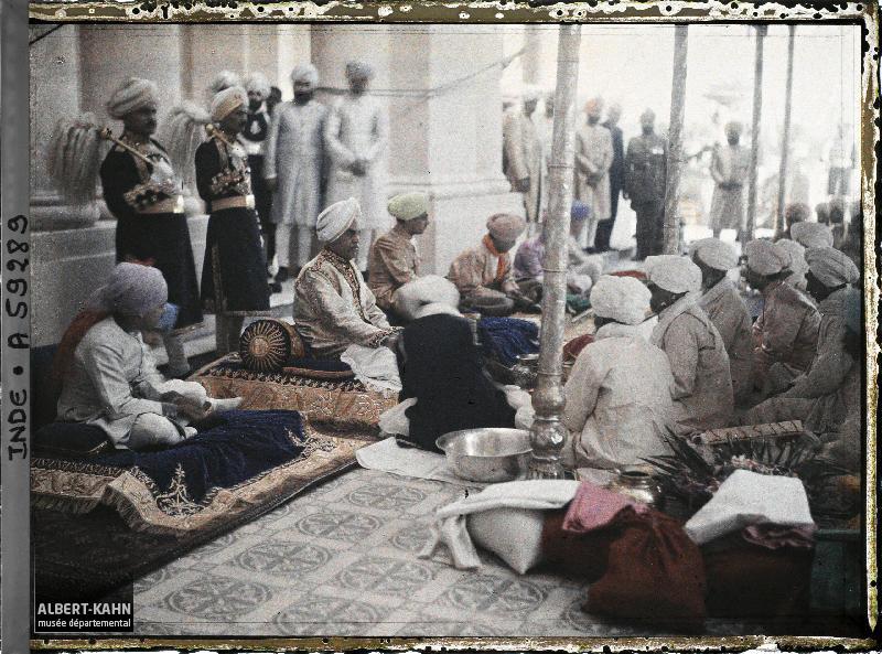 Indes, Kapurthala, Cérémonie Religieuse nommée Puja Offert