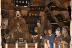 Chine, Pékin, Temple de la terre