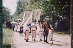France, Méry, Procession