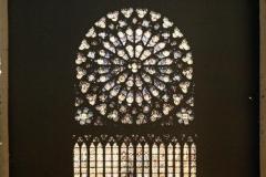 France, Paris, Vitraux de Notre Dame