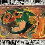 Pierre Alechinsky sobre papel