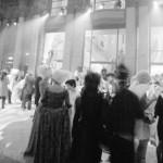 Un carnaval en blanco y negro