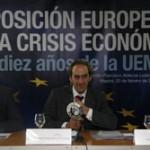 La posición europea ante la crisis económica   Los diez años de la UEM