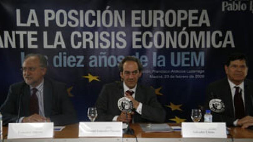 La posición europea ante la crisis económica | Los diez años de la UEM