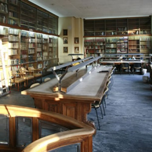 Biblioteca Horario Agosto