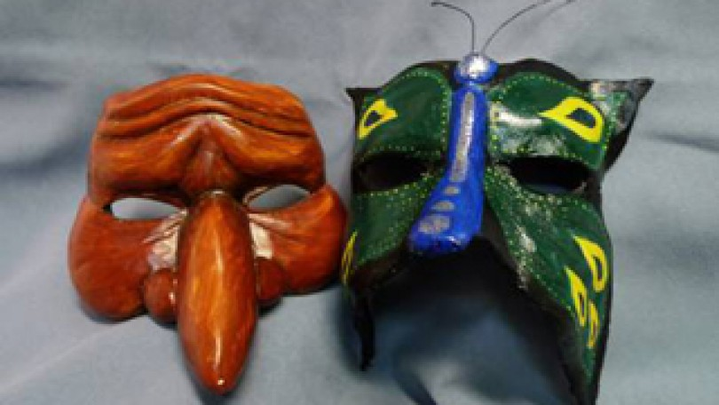 Taller de máscaras de fantasía para Carnaval