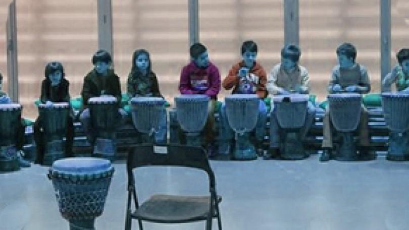 Taller de percusión para niños | Veraneando con arte · 5 a 8 años
