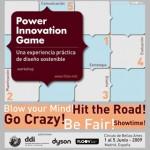 Taller de Arte Actual | Power Innovation Game. Una experiencia práctica de diseño sostenible