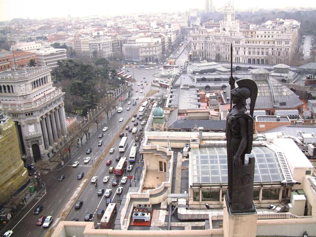 Estatua de Minerva - Círculo de Bellas Artes