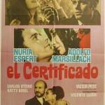 El certificado