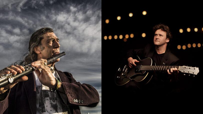 Jorge Pardo y Sylvain Luc