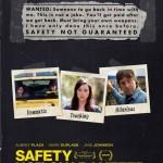 Seguridad no garantizada (Safety Not Guaranteed)