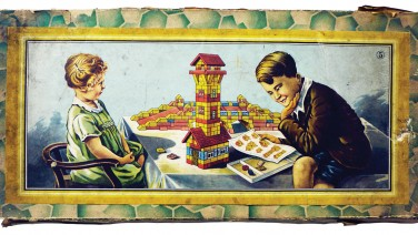 Juguetes de Construcción. Escuela de la Arquitectura Moderna