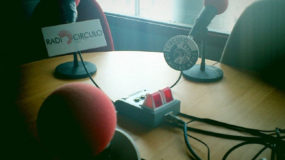 Alfredo Piquer e Inma J. Ferrero. Radio Círculo