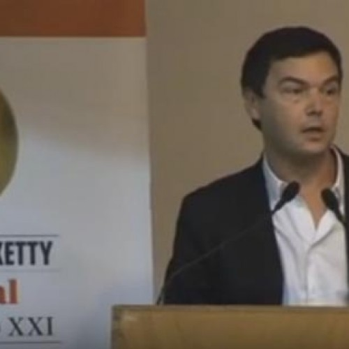 Thomas Piketty. Conference (I)