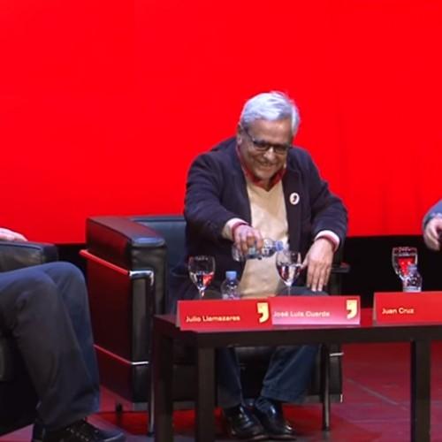 Julio Llamazares, José Luis Cuerda y Juan Cruz. Diálogo intrépido