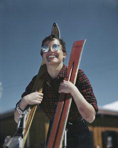 [American Judith Stanton, Zermatt, Switzerland], 1950.