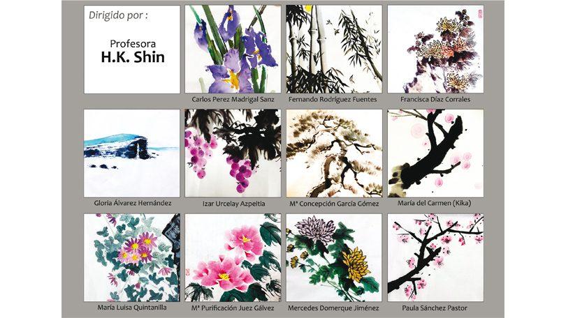 Exposición pintura coreana [fin de curso]