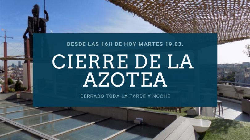 Azotea del CBA: Madrid desde el cielo (cierre martes 19 de marzo desde las 16h)