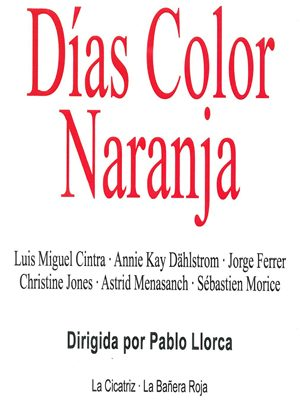 Días color naranja