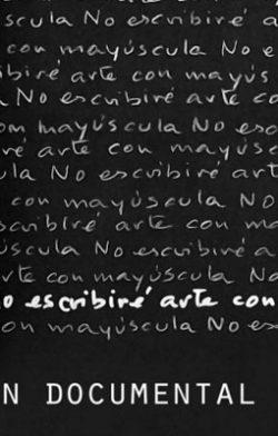 No escribiré arte con mayúscula