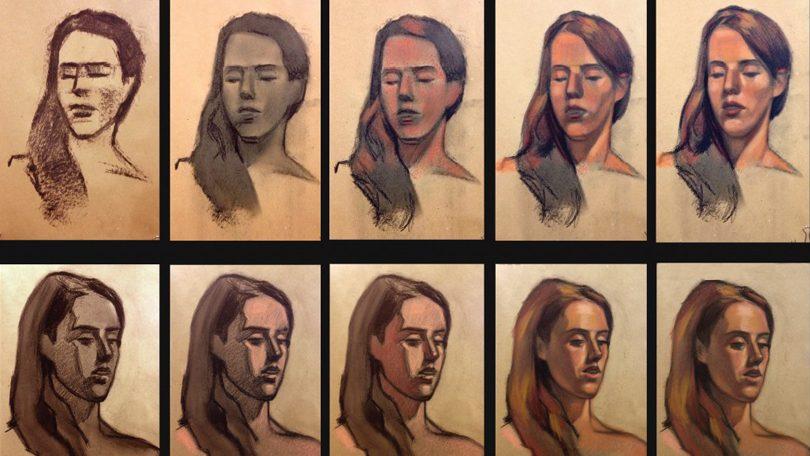 Exposición: Dibujos / Retratos