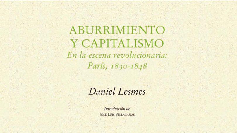 Presentación del libro: Aburrimiento y capitalismo