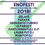Enofest! Música + cultura del vino 2018!