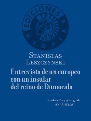 Entrevista de un europeo con un insular del reino de Dumocala