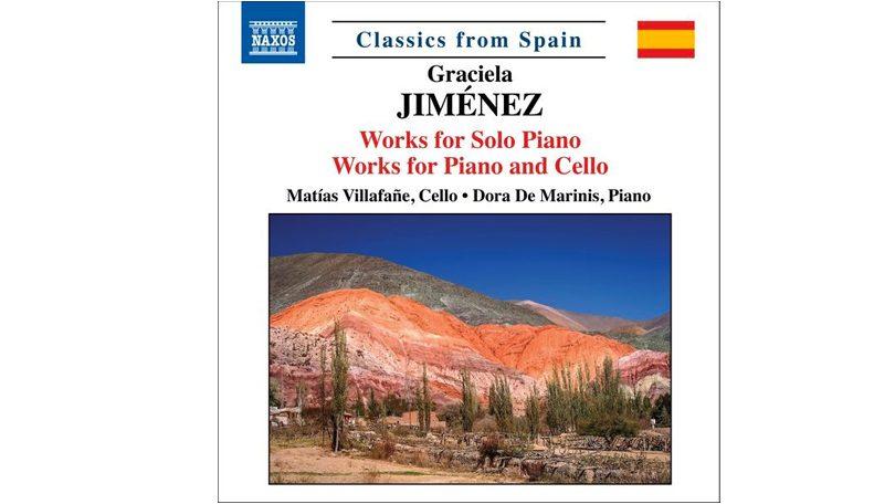 Presentación del disco: Graciela Jiménez. Obras para piano. Obras para piano y cello