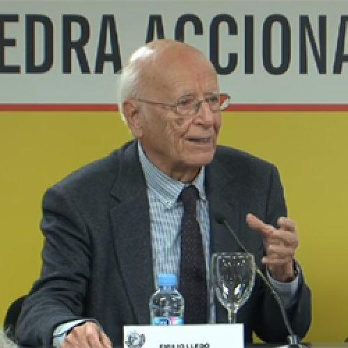 Emilio Lledó. Cátedra ACCIONA