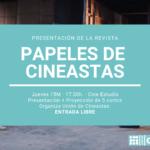 Presentación: revista Los Papeles de Cineastas