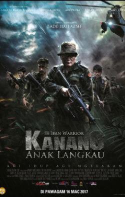 Iban Warrior (Kanang Anak Langkau)