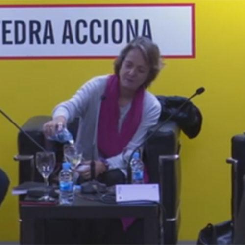 Cátedra ACCIONA: Marta Sanz
