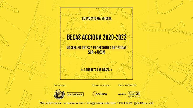 Escuela SUR: Becas ACCIONA 2020-2022